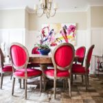 Tickel Pink Dining Room 01 - Colhoun Clan