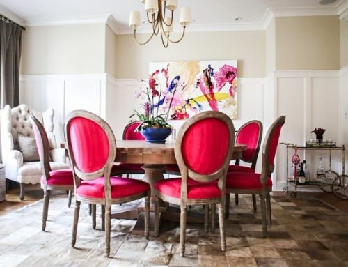 Tickled Pink Dining Room