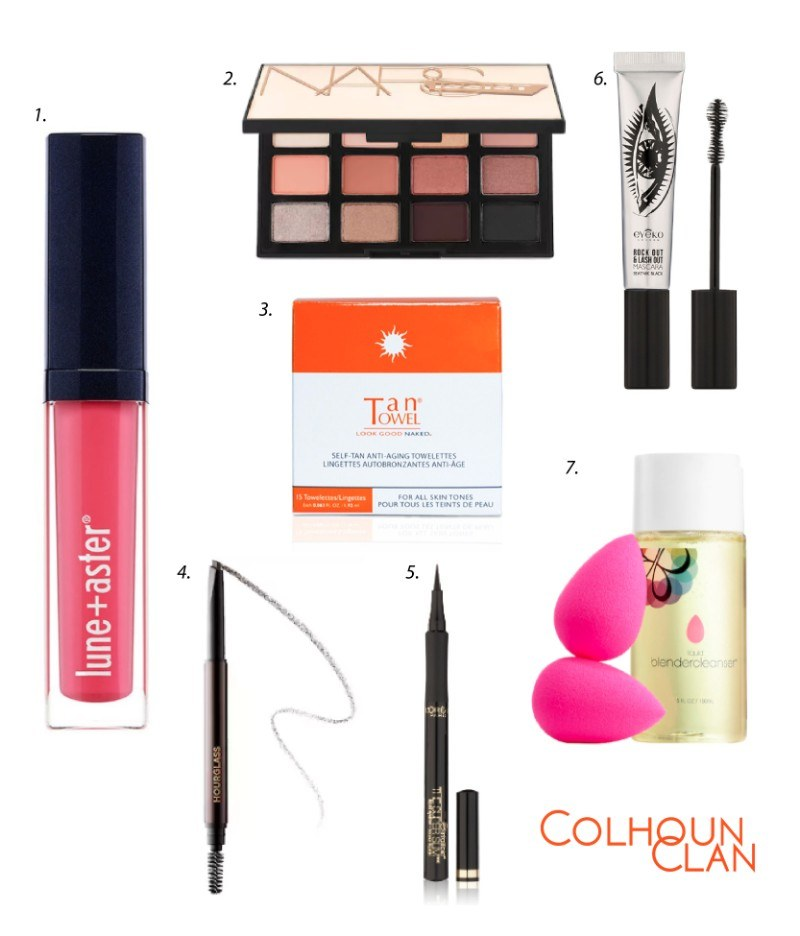 Favorite Beauty Essentials - Colhoun Clan